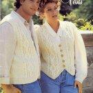 Fashion Vests ~ Knit Pattern 1994