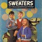Children's Sweaters ~ Vintage Knit & Crochet Book 1964