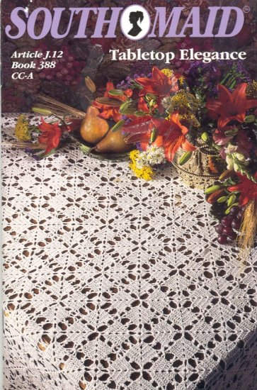 Tabletop Elegance ~ Crochet Book 1994