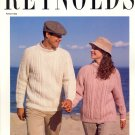 Paterna ~ His & Hers Aran Sweaters ~ Knit Chart 1991