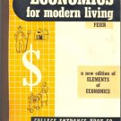 Economics for Modern Living by Richard Feir ~ Book 1958