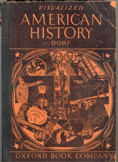 Visualized American History by Philip Dorf ~ Book 1946