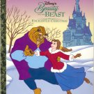 Beauty and the Beast ~ The Enchanted Christmas ~ Disney ~ Golden Book ~ 1997