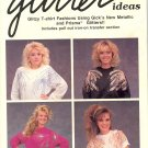 Glitter Ideas ~ Iron-On Transfers ~ Booklet 1988