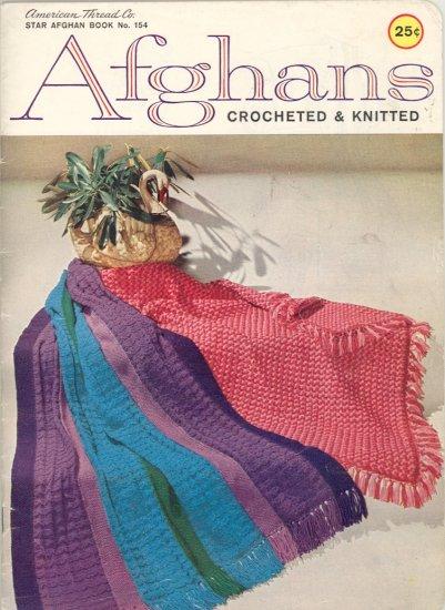 Vintage Afghans Knit & Crochet Book