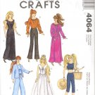 Barbie Sewing Pattern ~ McCall's 4064