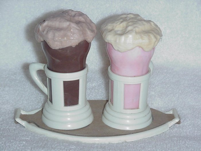 Ice Cream Soda Salt and Pepper Shakers