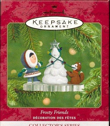 Hallmark Ornament ~ Frosty Friends 2001 ~ Frosty Friends series