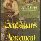 Gentleman's Agreement by Laura Z. Hobson ~ Book ~ 1947