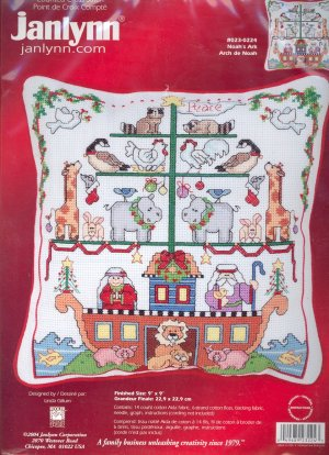 Noah's Ark ~ Cross-Stitch Kit