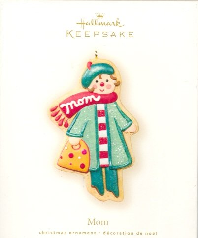 Hallmark Ornament ~ Mom 2007 ~ Gingerbread Cookie