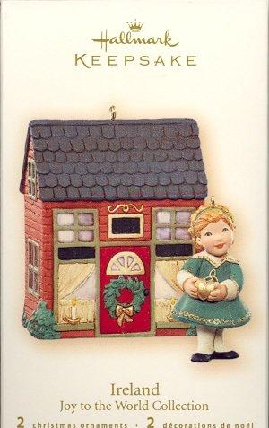 Hallmark Ornament ~ Ireland - Joy to the World Collection 2007