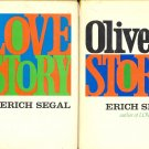 Love Story & Oliver's Story by Erich Segal ~ 2 Vintage Books 1970 and 1977
