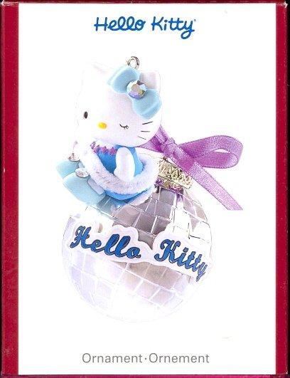 Carlton Ornament ~ Hello Kitty 2007