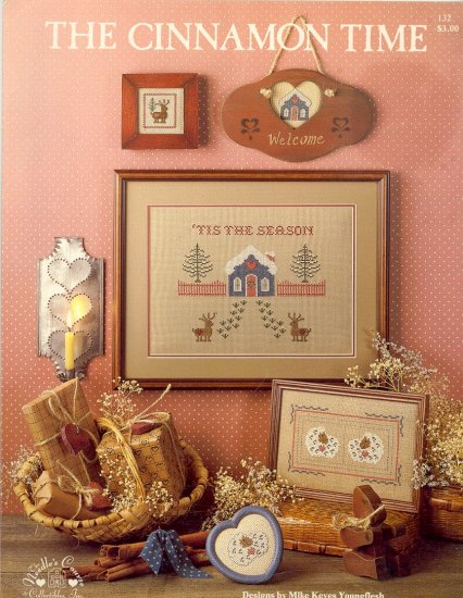 The Cinnamon Time by Mike Keyes Youngflesh ~ Cross-Stitch Chart 1985