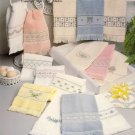 Powder Room Pastels ~ Cross-Stitch Chart 1986