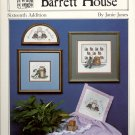 Homespun Charm II ~ Curious Cat ~ Forever Friends by Janie Jones ~ Cross-Stitch Chart 1986