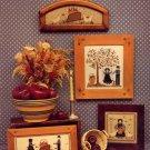 The Amish II Apple Tree Boy & Girl ~ Cross-Stitch Chart 1985