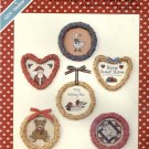 Country Vine Frame-Ups ~ Cross-Stitch Chart 1985