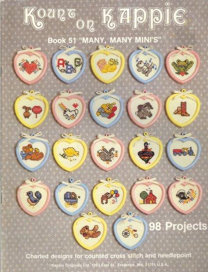 Kount on Kappie Mini's ~ Cross-Stitch Chart 1984