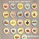 Kount on Kappie Mini's ~ Cross-Stitch Chart 1984