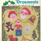 Holiday Felt Ornaments ~ 1984