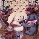 Joint Adventures Fully Jointed Collectible Rabbits by Nancy Southerland-Holmes ~ 1984