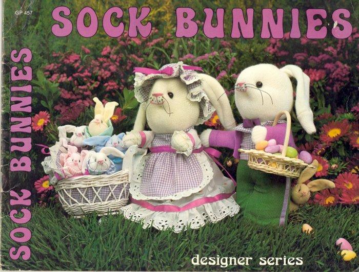 Sock Bunnies by Pat Porter & Ann Dunn ~ 1981