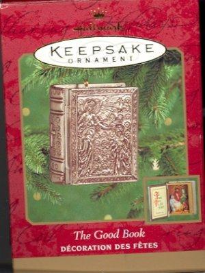 Hallmark Ornament ~ The Good Book 2000