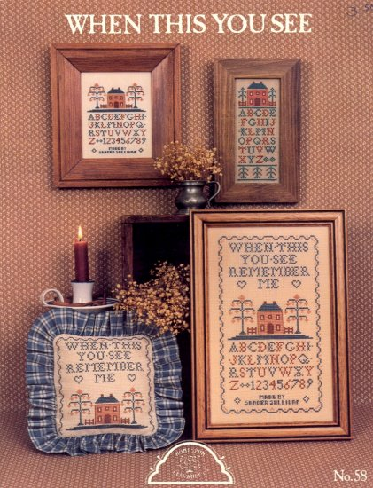 When This You See ~ Cross-Stitch Chart 1986