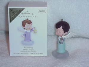 Hallmark Members Only Ornament ~ Rosemary ( Mary's Angels ) Colorway / Repaint 2008 - RARE