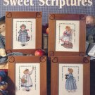 Sweet Scriptures by Sandi Gore Evans ~ Cross-stitch Booklet ~ 1992
