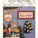 Sugar Plums and Santa Claus by Pat Thode ~ Cross-stitch Booklet ~ 1989
