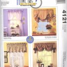 Window Dressings by Sue Sampson & Ellen DeLucia ~ Pattern McCall's 4121 ~ 2003