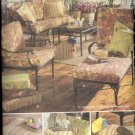 Waverly Outdoor Living Cushions & Pillows ~ Butterick 4759 ~ 2006