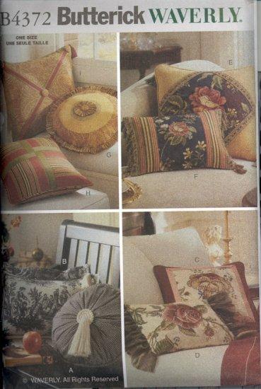 Waverly Pillows ~ Butterick 4372 ~ 2004
