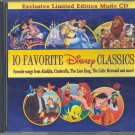 10 Favorite Disney Classics by Walt Disney ~ CD 2005