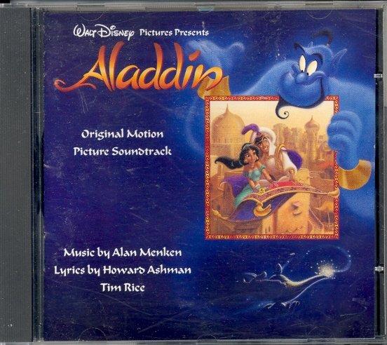 Aladdin (Original Motion Picture Soundtrack) by Walt Disney & Alan Menken ~ CD 1992