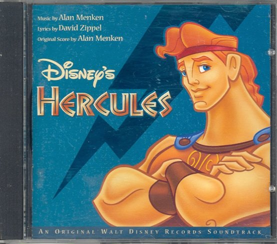 Hercules (Original Soundtrack) by Walt Disney & Alan Menken ~ CD 1997