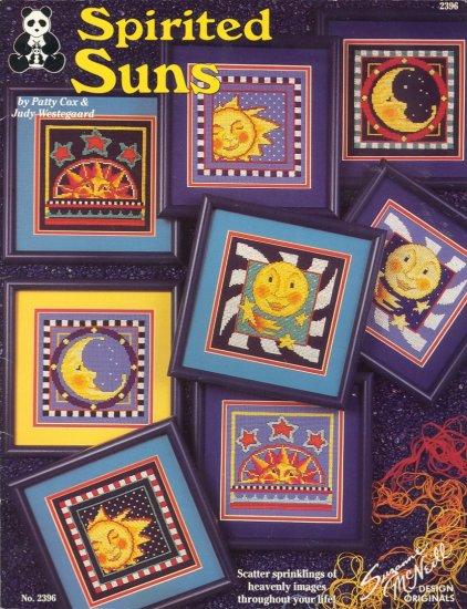 Spirited Suns by Patty Cox & Judy Westegaard ~ Cross-stitch Booklet ~ 1993