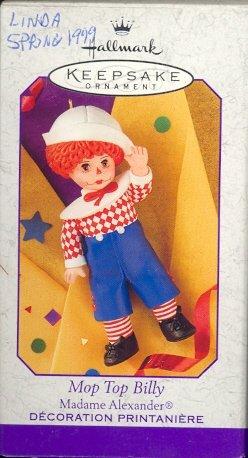 Hallmark Spring Ornament ~ Mop Top Billy ~ Madame Alexander 1999