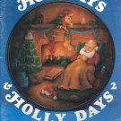 Holidays & Holly Days 2 Decorative Painting Booklet 1988
