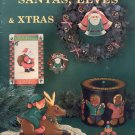 Santas, Elves & Xtras Decorative Painting Booklet 1990