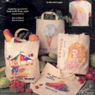 Grocery Totes Painted Canvas Decorative Painting Booklet 1990