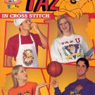 Looney Tunes ~ Taz ~ Cross-stitch Booklet ~ 1995