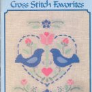A Collection of Cross-stitch Favorites Book ~ 1988