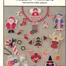 Holiday Trinkets Perforated Paper Jewelry Cross-stitch