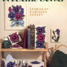 Pansies in Bloom by Kathleen Hurley ~ Plastic Canvas Chart 1987