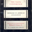 The Yalta Conference Problems in American Civilization Book ~ 1966