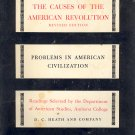 The Causes of the American Revolution Book ~ 1962